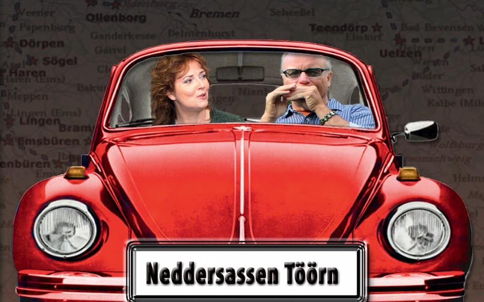 Schlagabtausch op Platt mit Lars-Luis Linek und Ilka Brüggemann.