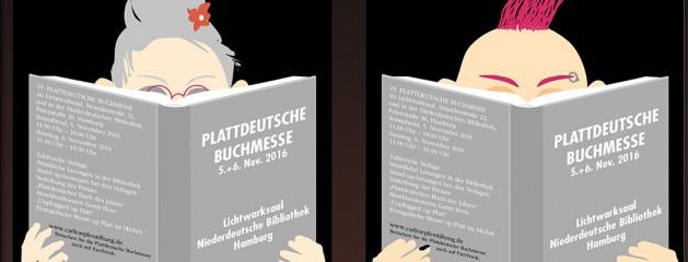 """Plattdeutsche Buchmesse liefert Vorgeschmack auf """"Neddersassen Töörn"""""""