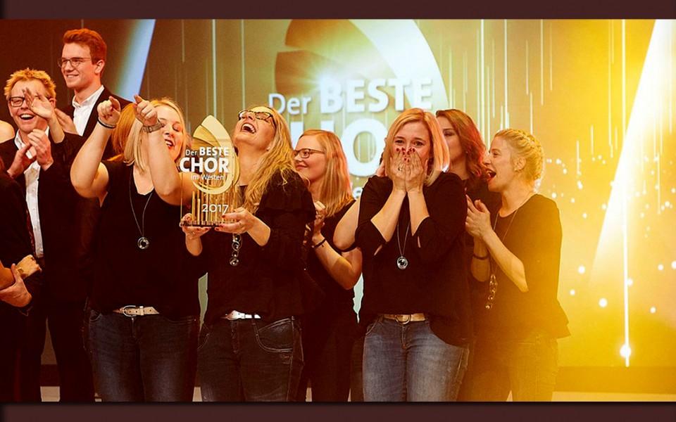 Jurorin Jane Comerford: Das Finale für den BESTEN CHOR im Westen 2018 wird spannend!
