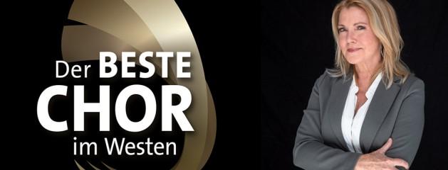 Jane Comerford in den Startlöchern! Der WDR sucht den besten Chor im Westen 2019.