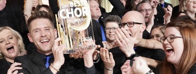 """Das große WDR-Finale! BIGGEsang wird """"Bester Chor im Westen 2019"""""""
