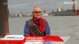 20200123 NDR Hamburg Journal Lars-Luis Linek Porträt
