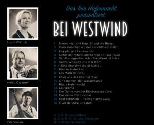 Rückseite Hafennacht Album Westwind