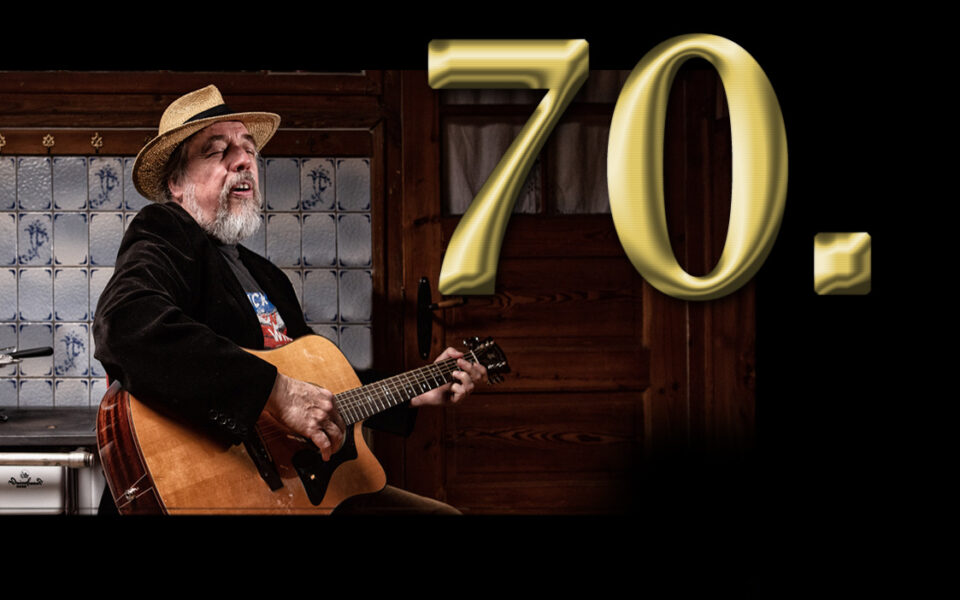Charly Beutin (70) // Nachtigall von der Eider feiert Geburtstag